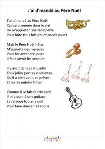 Poeme Lettre Au Pere Noel.J Ai Demande Au Pere Noel Mc En Maternelle