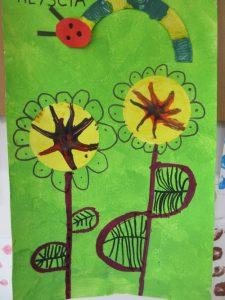 Fleurs Et Chenilles Chez Les Gs En Art Visuel Mc En Maternelle