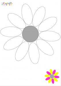 Coloriage Fleur Tps.Algorithmes Des Fleurs Mc En Maternelle
