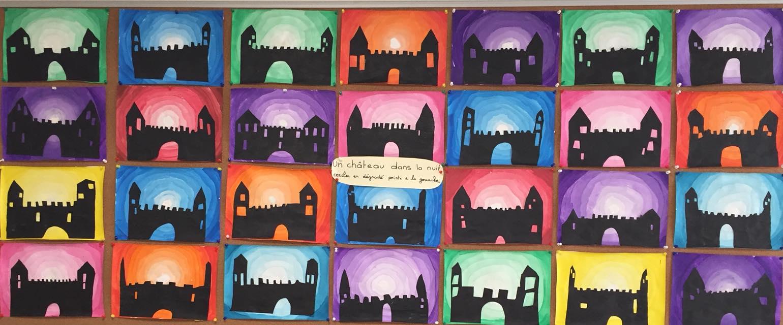 Le Tout Petit Roi Chateau Dans La Nuit En Art Visuel Mc En