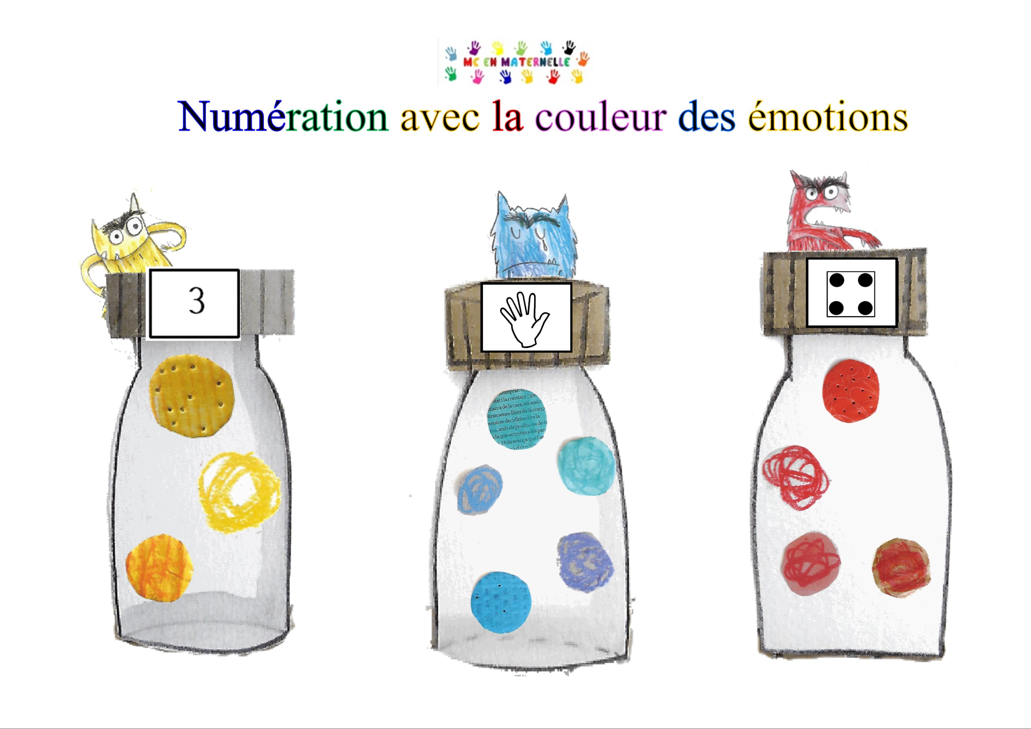 La Couleur Des émotions Atelier De Numérations Mc En