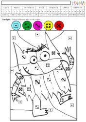 Coloriage Magique Printemps Gs.Coloriage Magique Mc En Maternelle